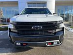 White[Summit White] 2021 Chevrolet Silverado 1500 LT Trail Boss Front Vehicle Photo in Calgary AB