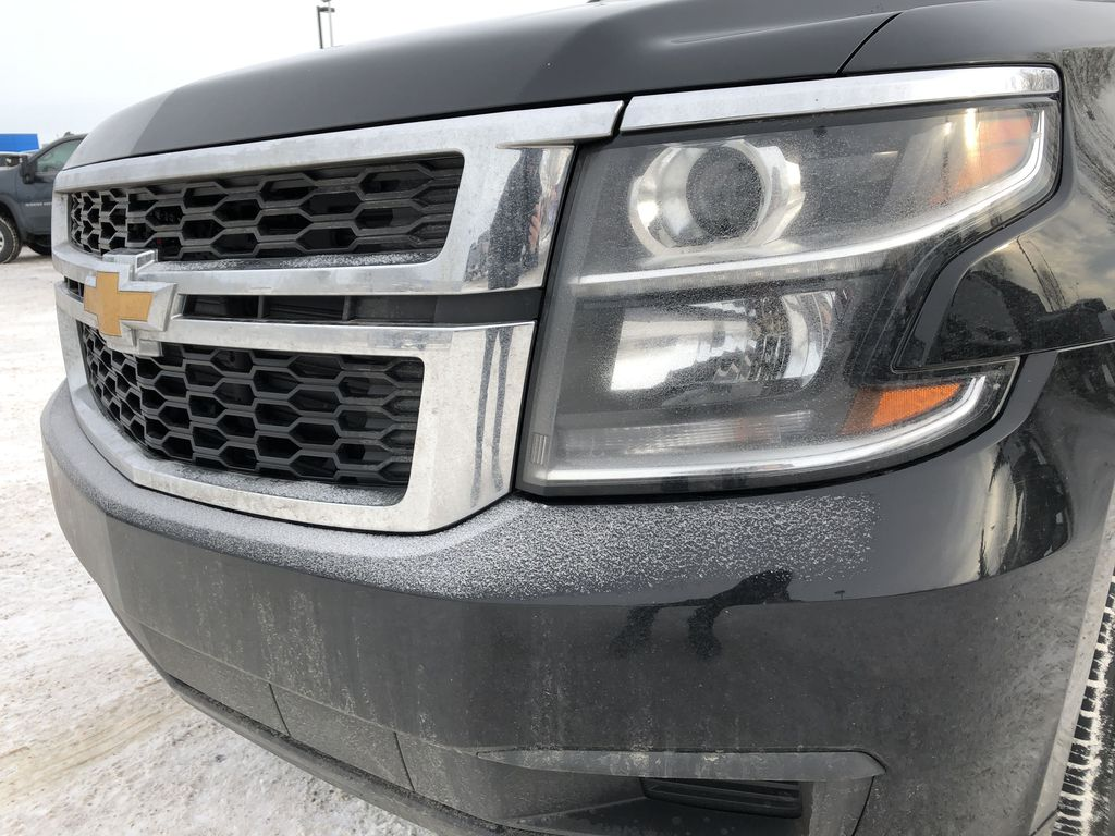 Black[Black] 2019 Chevrolet Suburban Left Front Head Light / Bumper and Grill in Edmonton AB