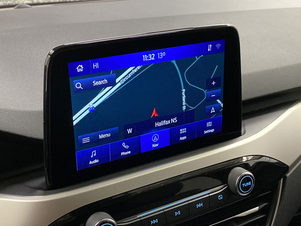 MAGNETIC 2020 Ford Escape Navigation Screen Closeup Photo in Dartmouth NS