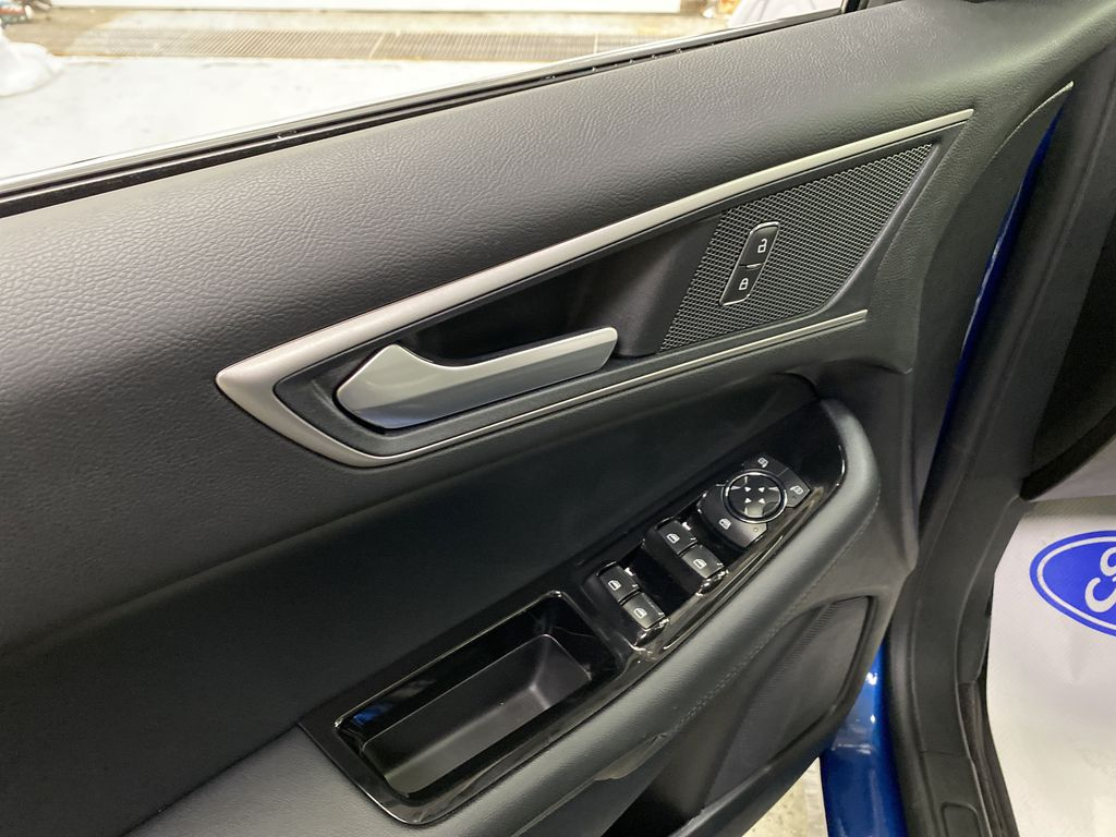 Blue[Atlas Blue Metallic] 2020 Ford Edge  Driver's Side Door Controls Photo in Dartmouth NS