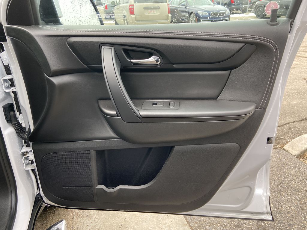 White[White Frost Tricoat] 2016 GMC Acadia SLE Right Front Interior Door Panel Photo in Calgary AB