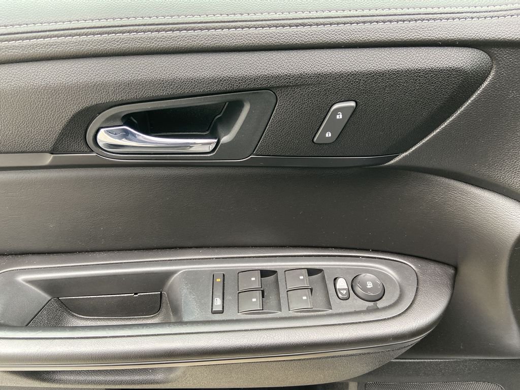 White[White Frost Tricoat] 2016 GMC Acadia SLE  Driver's Side Door Controls Photo in Calgary AB