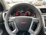 White[White Frost Tricoat] 2016 GMC Acadia SLE Steering Wheel and Dash Photo in Calgary AB
