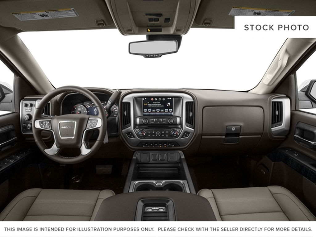 White[White Frost Tricoat] 2017 GMC Sierra 1500 Central Dash Options Photo in Cold Lake AB