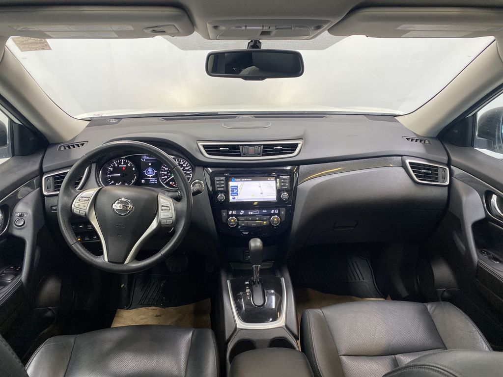 WHITE 2015 Nissan Rogue SL - Bluetooth, Backup Camera, Heated Front Seats Strng Wheel/Dash Photo: Frm Rear in Edmonton AB