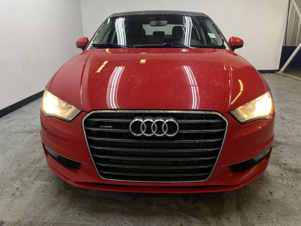 RED 2016 Audi A3 Quattro 2.0T Komfort - NAV, Bluetooth, Backup Camera, Heated Front Seats Front Vehicle Photo in Edmonton AB