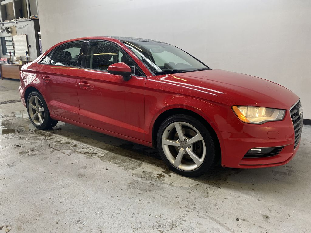 RED 2016 Audi A3 Quattro 2.0T Komfort - NAV, Bluetooth, Backup Camera, Heated Front Seats Right Front Corner Photo in Edmonton AB