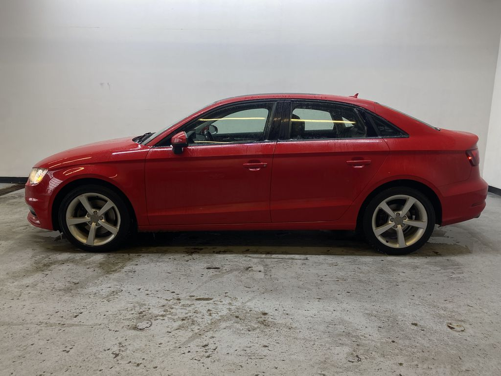 RED 2016 Audi A3 Quattro 2.0T Komfort - NAV, Bluetooth, Backup Camera, Heated Front Seats Left Side Photo in Edmonton AB