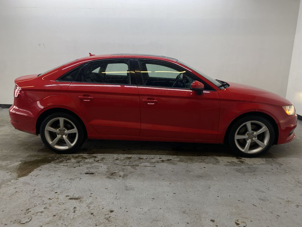 RED 2016 Audi A3 Quattro 2.0T Komfort - NAV, Bluetooth, Backup Camera, Heated Front Seats Right Side Photo in Edmonton AB