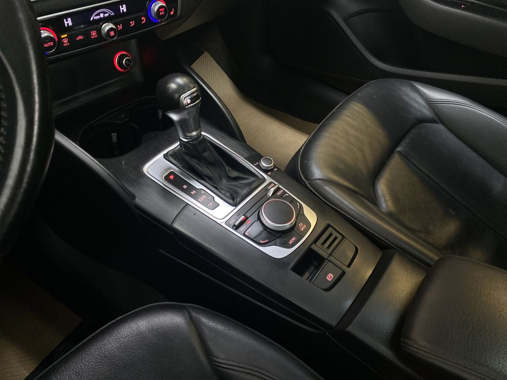 RED 2016 Audi A3 Quattro 2.0T Komfort - NAV, Bluetooth, Backup Camera, Heated Front Seats Center Console Photo in Edmonton AB