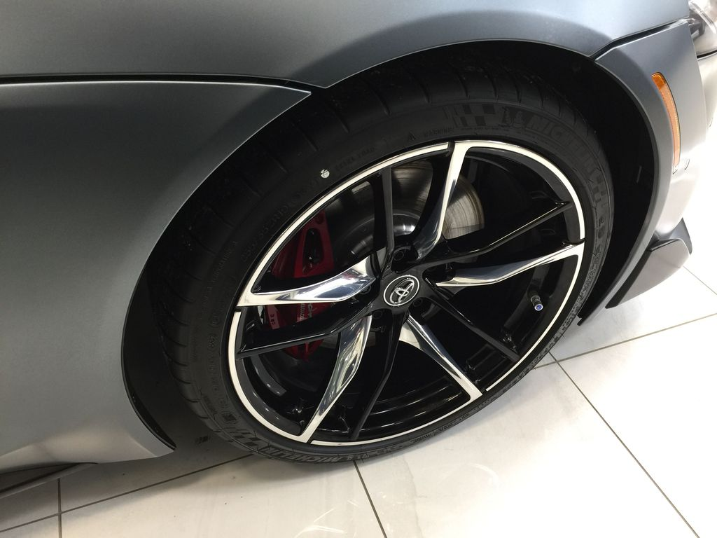 Gray[Phantom] 2021 Toyota GR Supra 3.0 Right Front Rim and Tire Photo in Sherwood Park AB