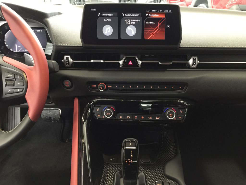 Gray[Phantom] 2021 Toyota GR Supra 3.0 Central Dash Options Photo in Sherwood Park AB