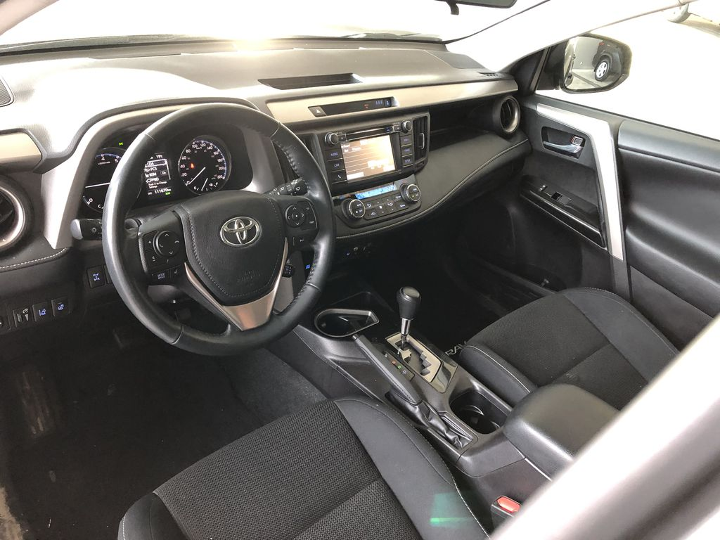 Grey 2018 Toyota RAV4 XLE Left Driver Controlled Options Photo in Edmonton AB
