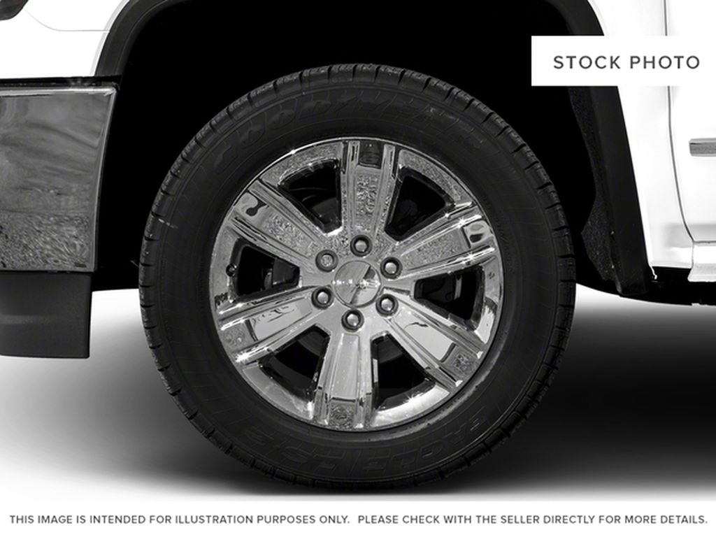 Gray[Dark Slate Metallic] 2018 GMC Sierra 1500 Left Front Rim and Tire Photo in Fort Macleod AB