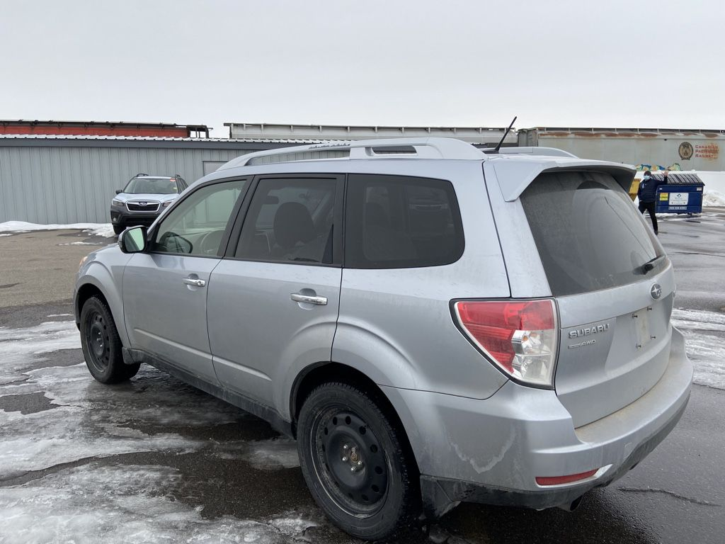Silver 2013 Subaru Forester Left Side Photo in Lethbridge AB