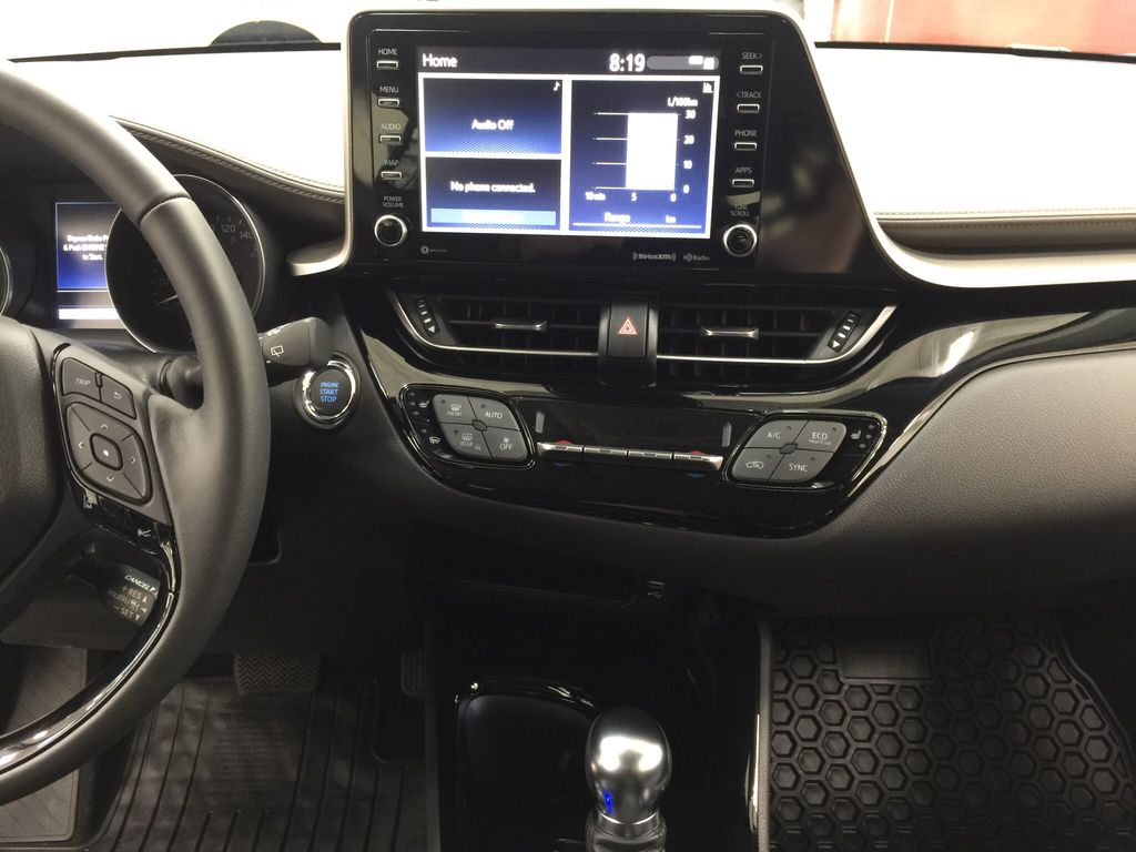 Blue[Blue Eclipse Metallic w/Black Roof] 2021 Toyota C-HR Limited Central Dash Options Photo in Sherwood Park AB