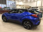 Blue[Blue Eclipse Metallic w/Black Roof] 2021 Toyota C-HR Limited Left Side Photo in Sherwood Park AB