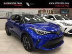 Blue[Blue Eclipse Metallic w/Black Roof] 2021 Toyota C-HR Limited Primary Listing Photo in Sherwood Park AB