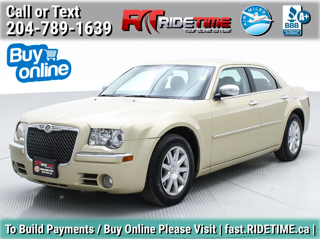 Gold[White Gold Pearl] 2010 Chrysler 300 Limited - Leather, Sunroof, SiriusXM Radio, CHEAP