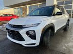 White[Summit White] 2021 Chevrolet Trailblazer RS Left Front Head Light / Bumper and Grill in Calgary AB
