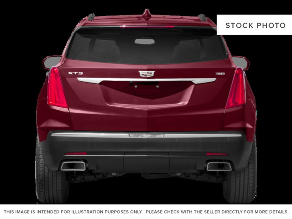 Red[Red Passion Tintcoat] 2017 Cadillac XT5 Luxury Rear of Vehicle Photo in Calgary AB