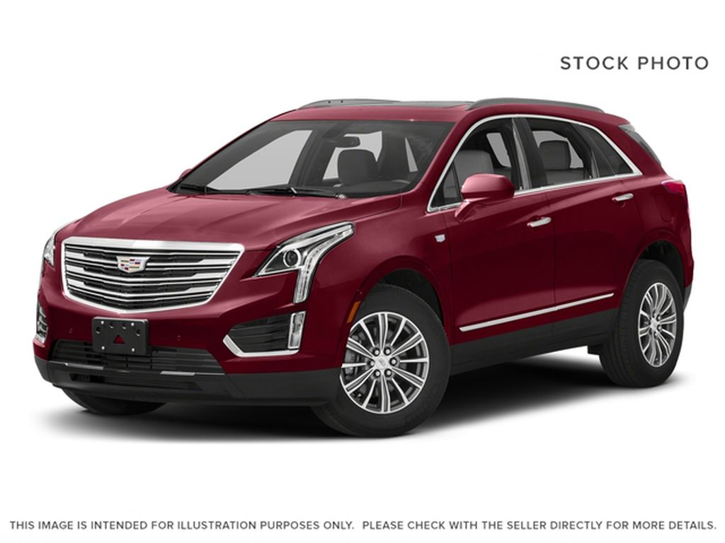 Red[Red Passion Tintcoat] 2017 Cadillac XT5 Luxury