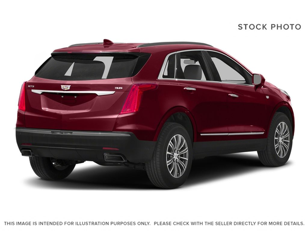 Red[Red Passion Tintcoat] 2017 Cadillac XT5 Luxury Right Rear Corner Photo in Calgary AB