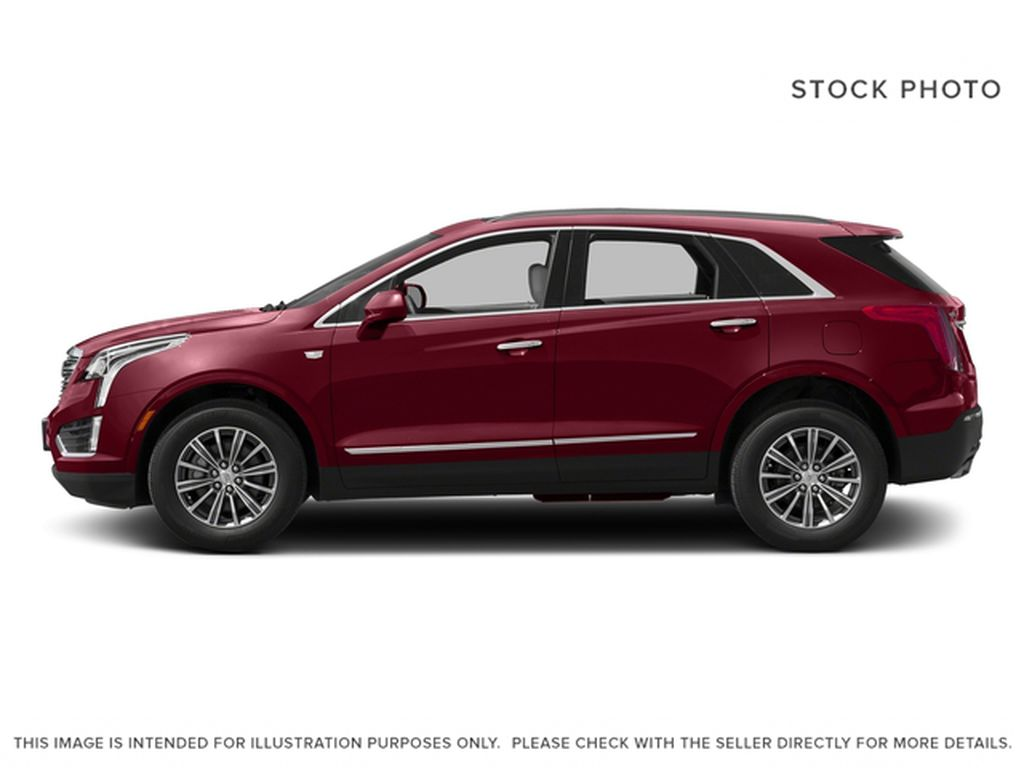 Red[Red Passion Tintcoat] 2017 Cadillac XT5 Luxury Left Side Photo in Calgary AB