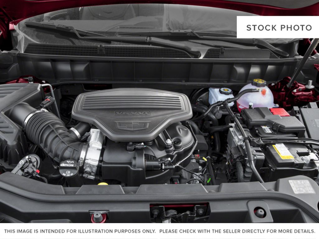 Red[Red Passion Tintcoat] 2017 Cadillac XT5 Luxury Engine Compartment Photo in Calgary AB