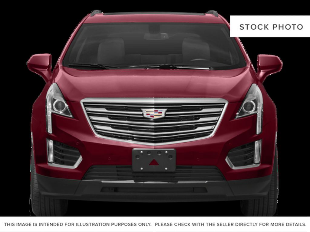 Red[Red Passion Tintcoat] 2017 Cadillac XT5 Luxury Front Vehicle Photo in Calgary AB