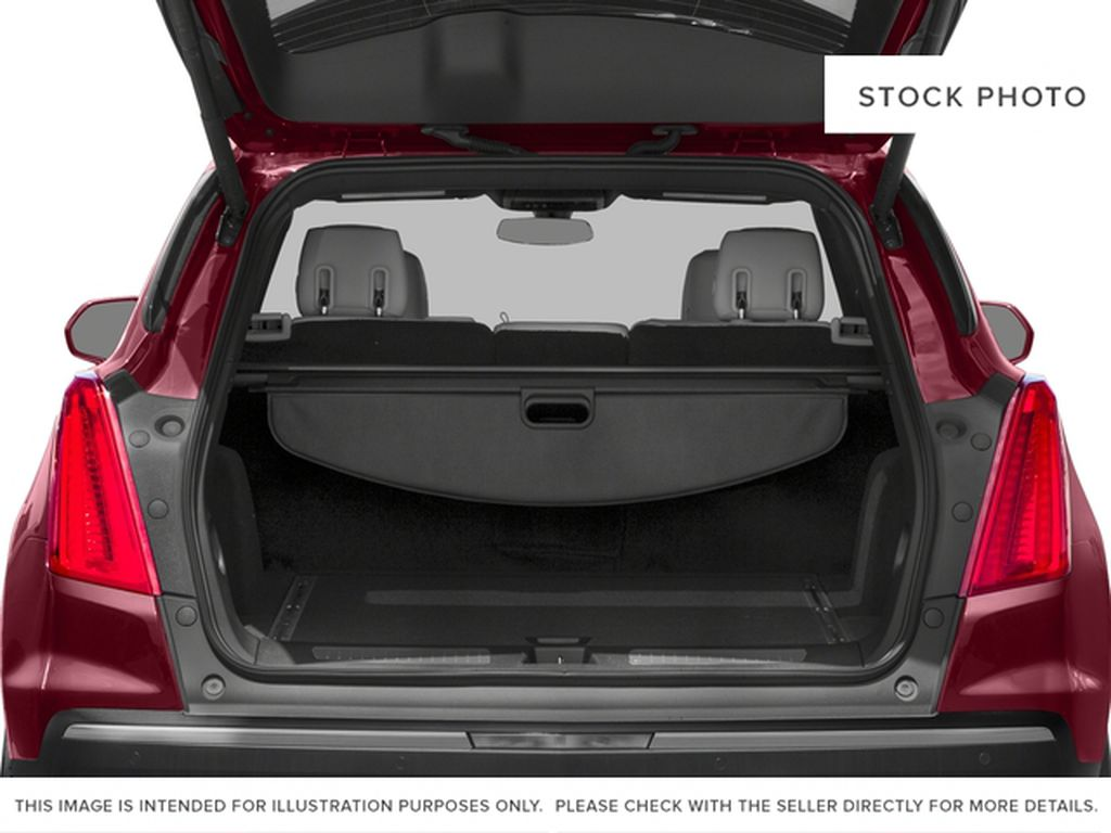 Red[Red Passion Tintcoat] 2017 Cadillac XT5 Luxury Trunk / Cargo Area Photo in Calgary AB