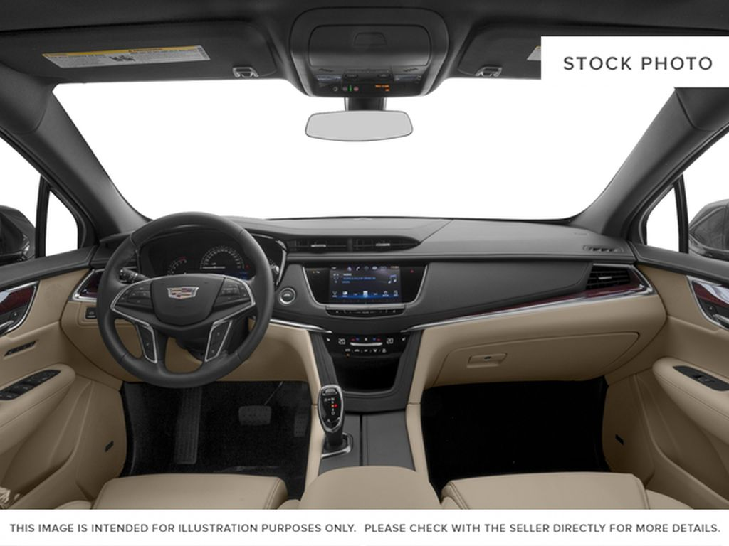 Red[Red Passion Tintcoat] 2017 Cadillac XT5 Luxury Central Dash Options Photo in Calgary AB