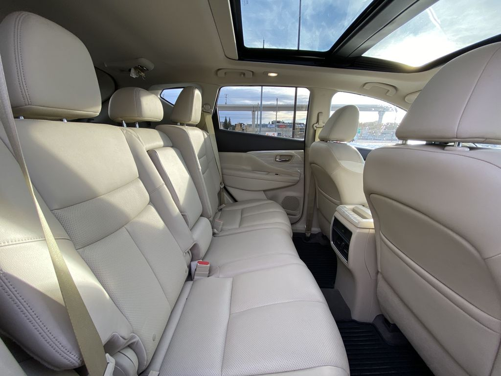 2017 Nissan Murano SL Right Side Rear Seat  Photo in Calgary AB