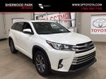 White[Blizzard Pearl] 2017 Toyota Highlander XLE Primary Listing Photo in Sherwood Park AB