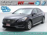 Black[Black Noir Pearl Metallic] 2015 Hyundai Sonata Sport Tech - Panoramic Roof, Navigation, Bluetooth Primary Listing Photo in Winnipeg MB