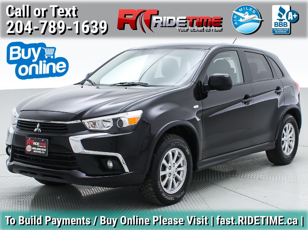 Black[Labrador Black Pearl] 2016 Mitsubishi RVR SE 4WD - PRICED WAY BELOW MARKET
