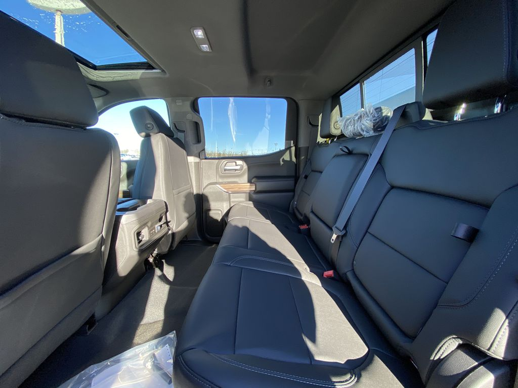 Red[Cherry Red Tintcoat] 2021 Chevrolet Silverado 1500 RST Left Side Rear Seat  Photo in Calgary AB