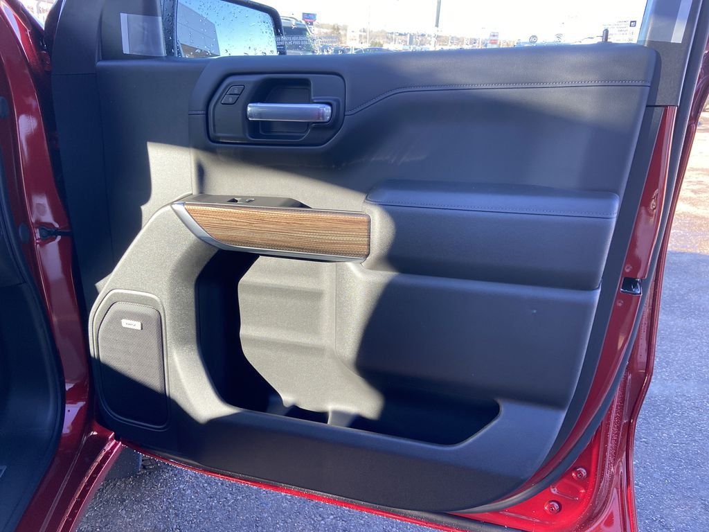 Red[Cherry Red Tintcoat] 2021 Chevrolet Silverado 1500 RST Right Front Interior Door Panel Photo in Calgary AB