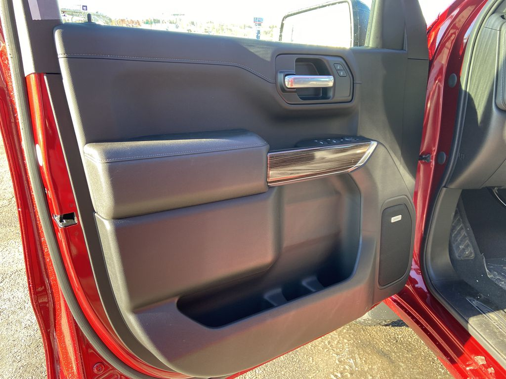 Red[Cherry Red Tintcoat] 2021 Chevrolet Silverado 1500 RST Left Front Interior Door Panel Photo in Calgary AB