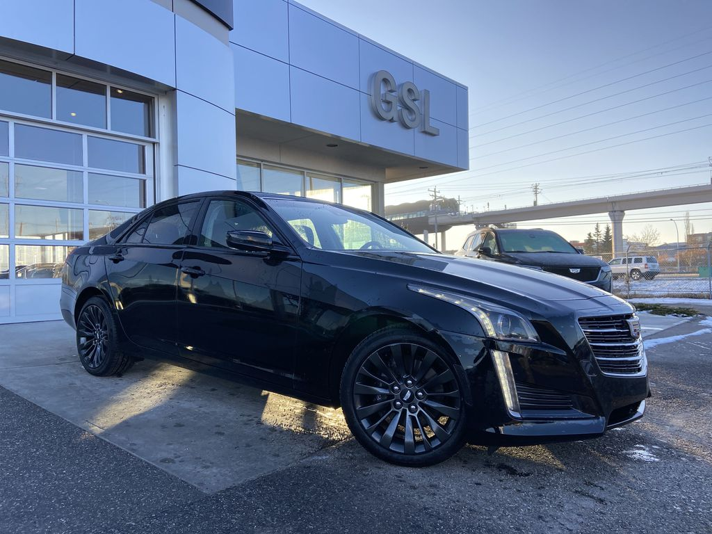 Black[Black Raven] 2016 Cadillac CTS Sedan Luxury Midnight Edition