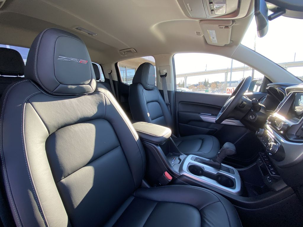 Blue[Bright Blue Metallic] 2021 Chevrolet Colorado ZR2 Right Side Front Seat  Photo in Calgary AB