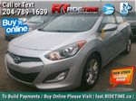 Silver[Shimmering Silver Metallic] 2013 Hyundai Elantra GT  GLS - AUTO, Panoramic Roof, Bluetooth Primary Listing Photo in Winnipeg MB