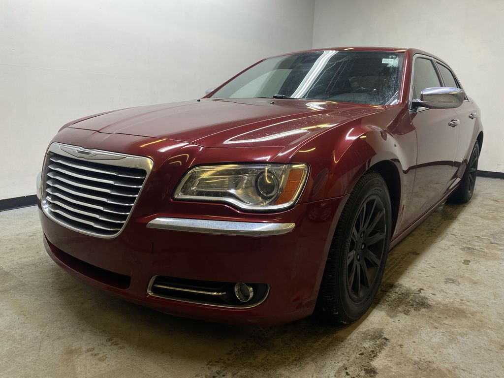 RED 2012 Chrysler 300 300C - Backup Camera, NAV, Bluetooth, Remote Engine Start Left Front Head Light / Bumper and Grill in Edmonton AB