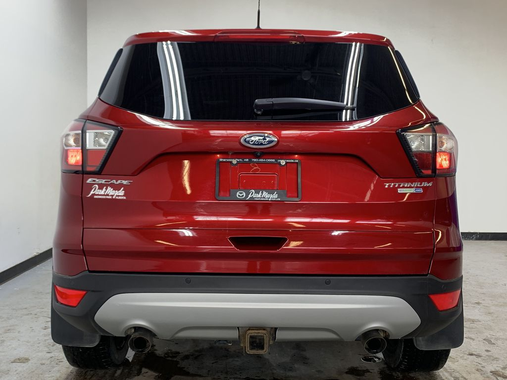 RED 2017 Ford Escape Titanium - Bluetooth, Backup Cam, NAV Rear of Vehicle Photo in Edmonton AB