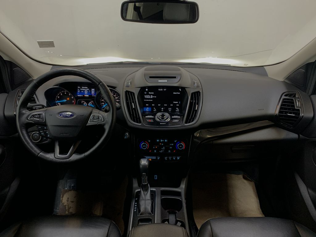 RED 2017 Ford Escape Titanium - Bluetooth, Backup Cam, NAV Strng Wheel/Dash Photo: Frm Rear in Edmonton AB