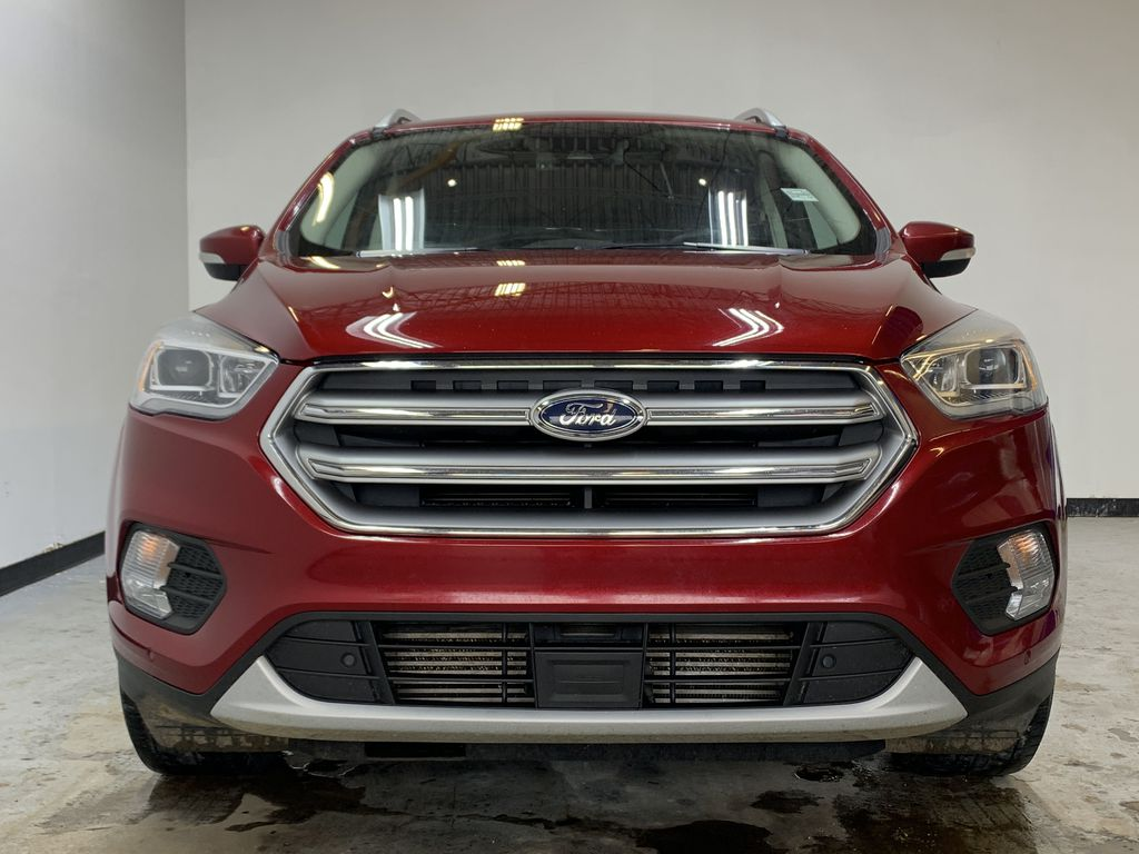 RED 2017 Ford Escape Titanium - Bluetooth, Backup Cam, NAV Front Vehicle Photo in Edmonton AB