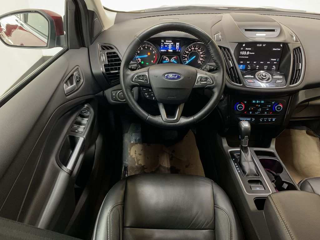 RED 2017 Ford Escape Titanium - Bluetooth, Backup Cam, NAV Strng Wheel: Frm Rear in Edmonton AB