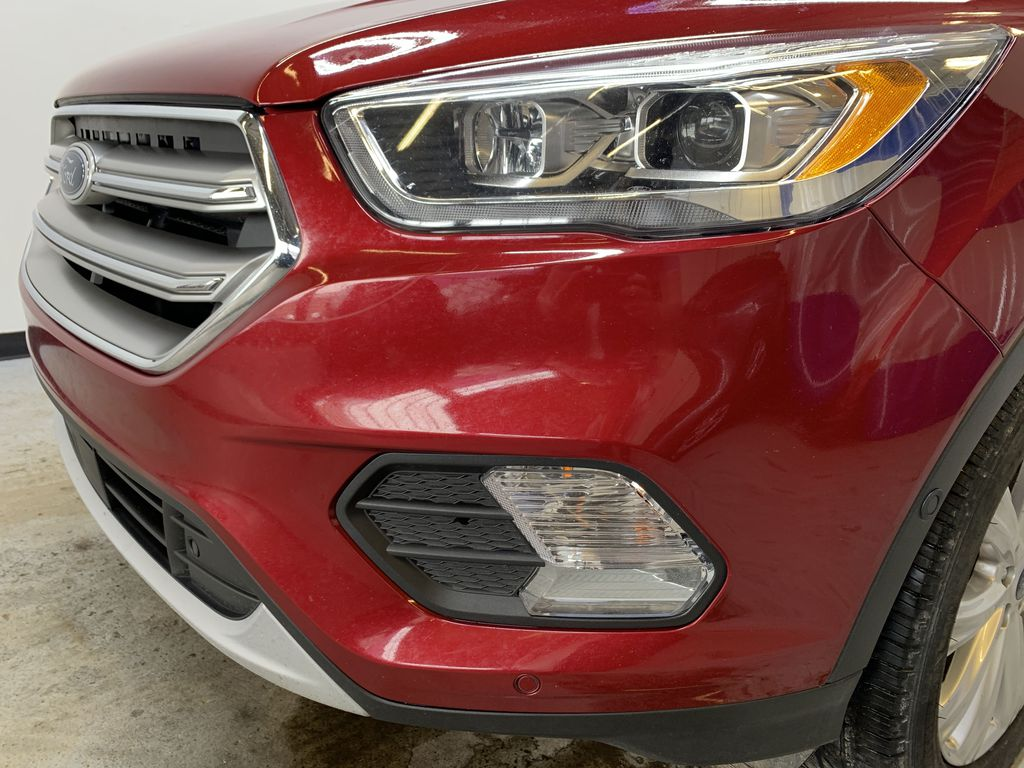 RED 2017 Ford Escape Titanium - Bluetooth, Backup Cam, NAV Left Front Head Light / Bumper and Grill in Edmonton AB
