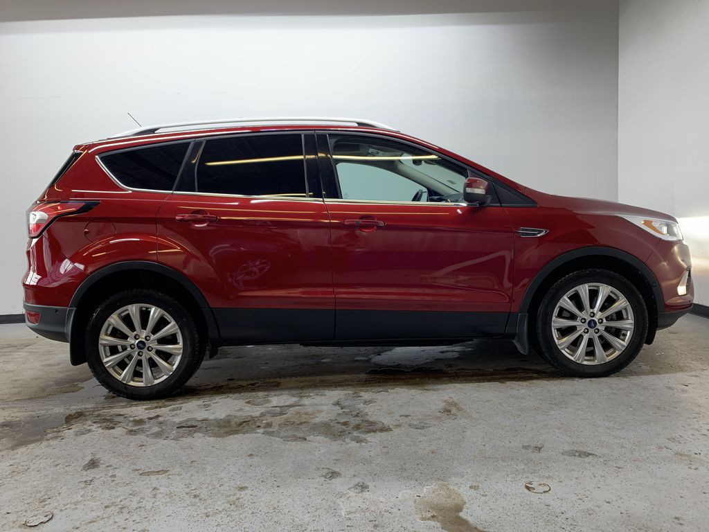 RED 2017 Ford Escape Titanium - Bluetooth, Backup Cam, NAV Right Side Photo in Edmonton AB