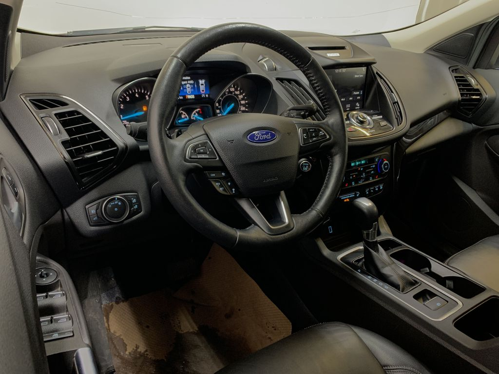 RED 2017 Ford Escape Titanium - Bluetooth, Backup Cam, NAV Steering Wheel and Dash Photo in Edmonton AB